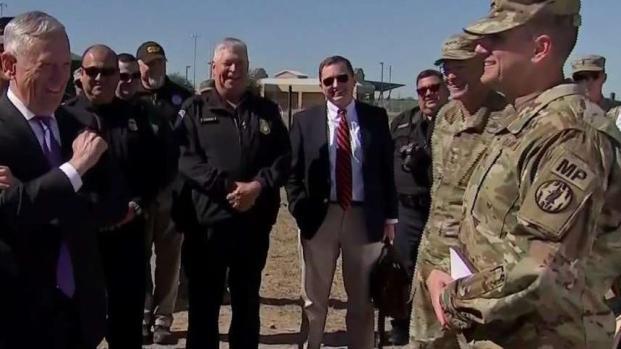 [TLMD - McAllen] Secretario de Defensa visita para supervisar operativo militar