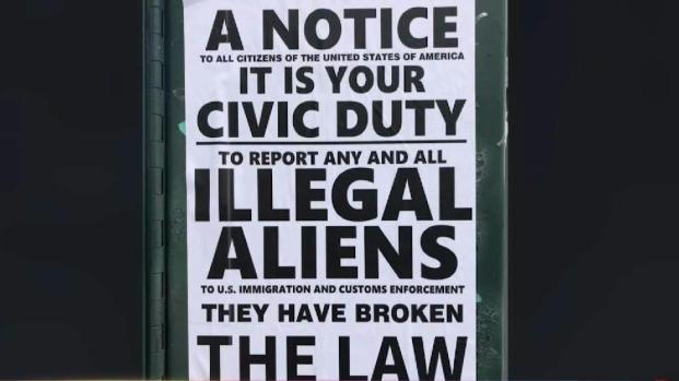 [TLMD - NY] Surgen letreros anti-inmigrantes en Queens