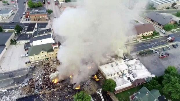 Varios heridos tras explosión en Wisconsin