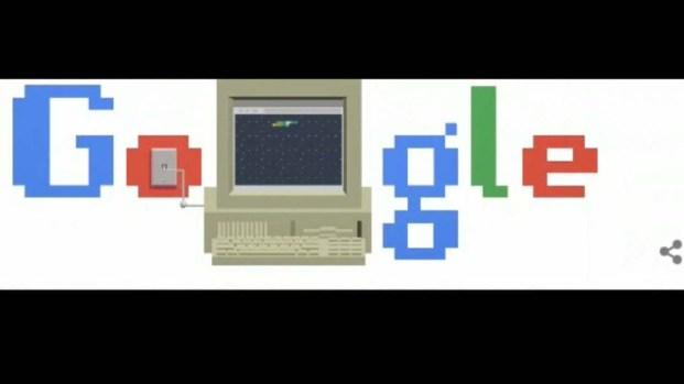 """Google crea un """"doodle"""" para celebrar los 30 años del internet"""