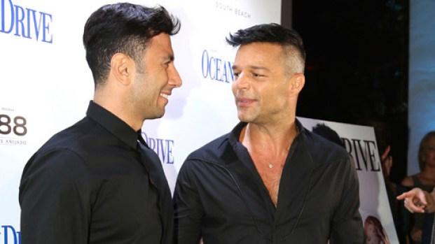 Ricky Martin acude con su novio a gala por Puerto Rico