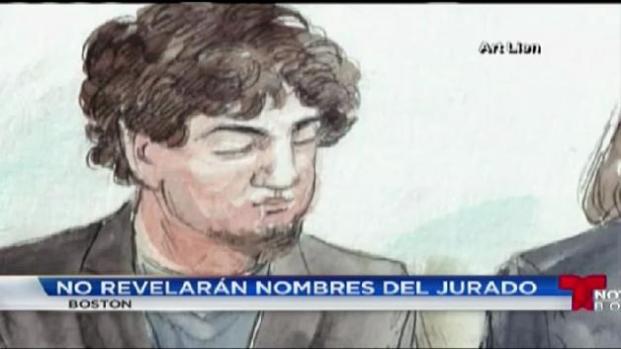 No publicarán nombres de jurado de Tsarnaev