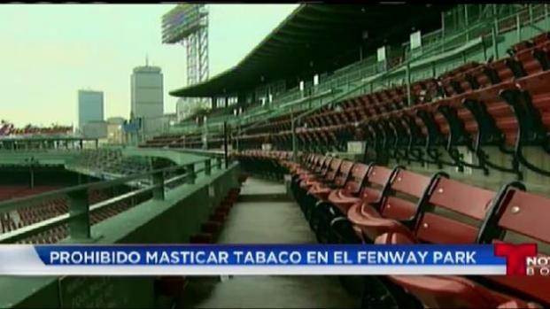 Prohibido mascar tabaco en Fenway