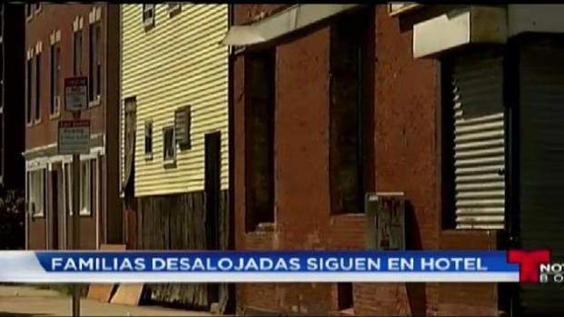 Familias siguen sin hogar en East Boston