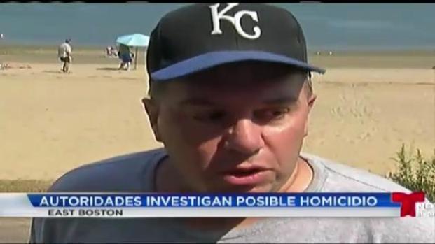 Encuentran cadáver en playa de East Boston
