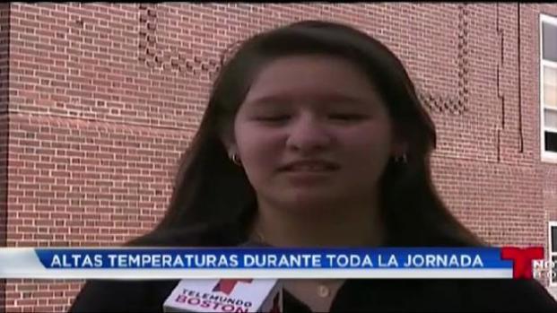 VIDEO: Altas temperaturas afectan actividades escolares
