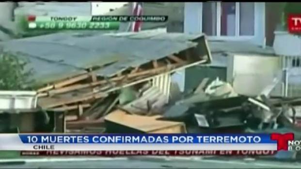 Chilenos es Boston reaccionan ante devastador terremoto