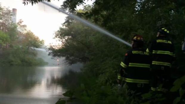 Fuego de 7 alarmas en Haverhill, Massachusetts