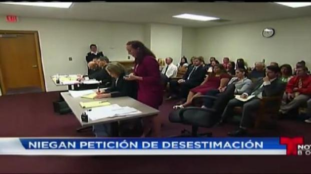 Deniegan petición de desestimación de cargos