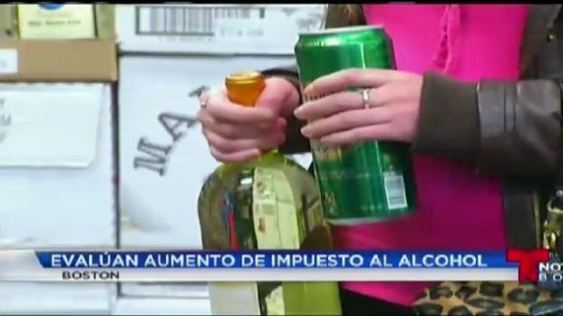 Posible nuevo impuesto al alcohol en Boston