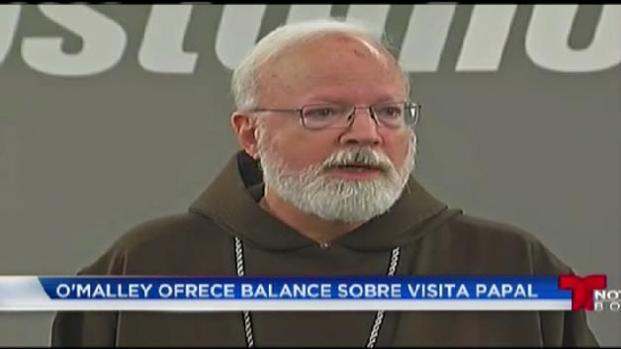 Cardenal O'Malley regresa de su viaje junto a papa Francisco
