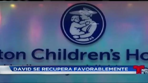 Familia Argentina lucha por la salud de su hijo en Boston Children's Hospital