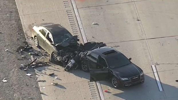 [TLMD - NATL] Oficial motorizado muere en accidente en la I-15