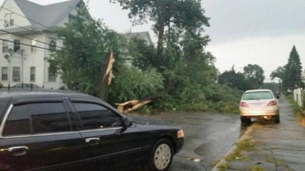 Galería: Dos víctimas por rayos tras potente tormenta
