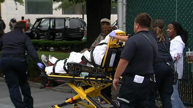 Caos luego de tiroteo en Cambridge