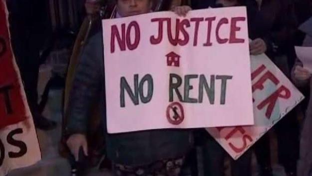 Inquilinos denuncian malas condiciones de apartamentos en DC