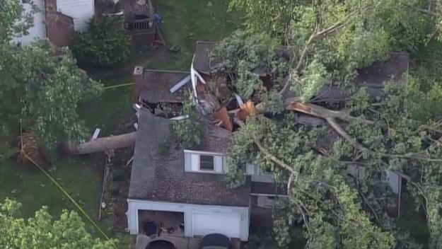 Confirman que tornado EF-1 tocó tierra en Maryland