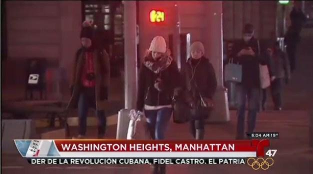 [TLMD - NY] Bajas temperaturas en nuestra área