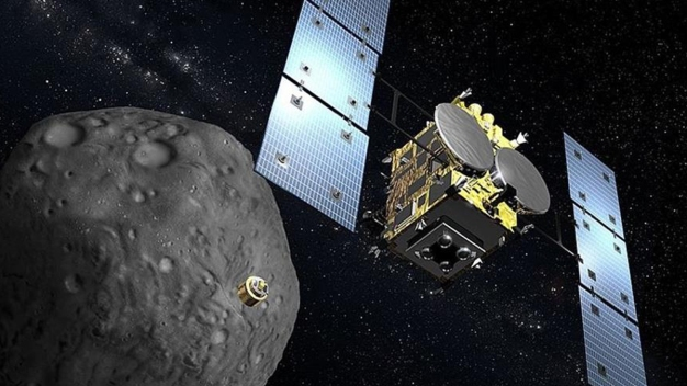 Sonda regresa a la Tierra con muestras de asteroide}