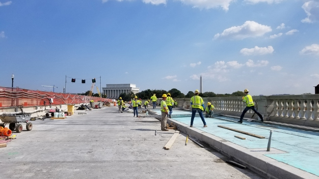 Arlington Memorial Bridge cerrado este fin de semana