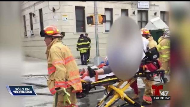 30 heridos y decenas sin hogar tras voraz incendio