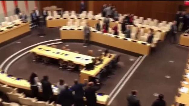 Funcionarios cubanos boicotean acto en la ONU