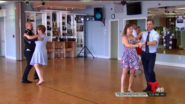 Bailando contra el cáncer en Sarasota