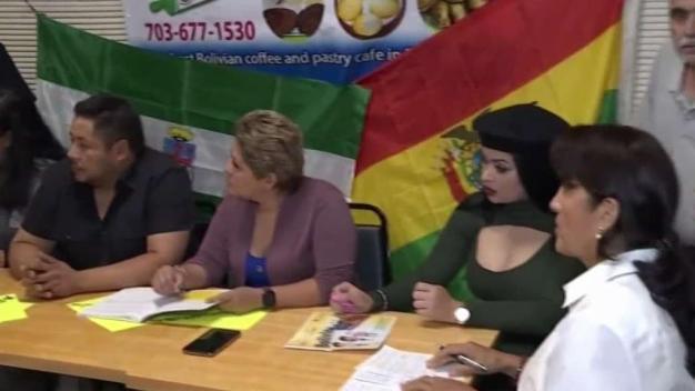 Bolivianos del área de DC temen quedarse sin votar