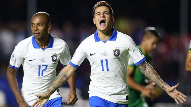 Brasil saca la victoria en su debut de Copa América