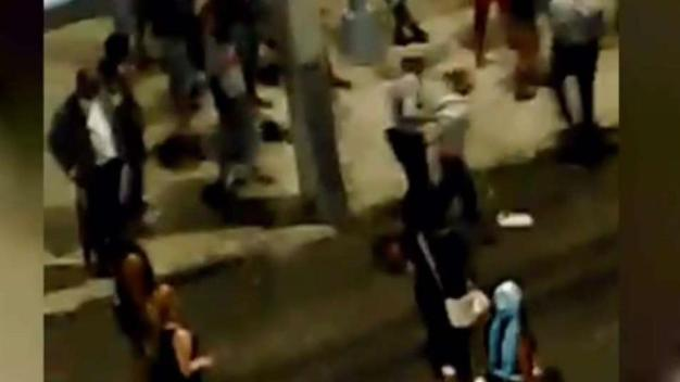 Brutal golpiza de la policía a un hombre en Cuba