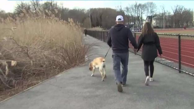 Buscan a sospechoso de agredir a mujer en parque de Quincy