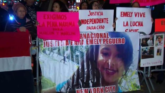 Caso Emely Peguero: Protestas se extienden a Nueva York
