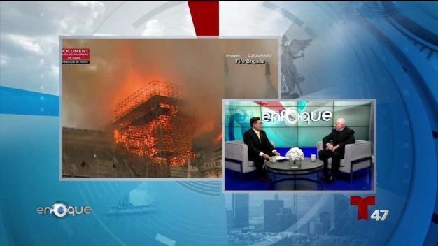 Catástrofe de Notre Dame impacta a comunidad religiosa