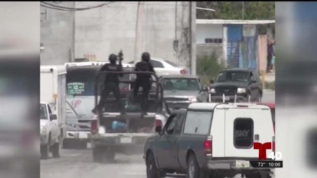 Civil resulta herido de bala durante enfrentamiento en Reynosa