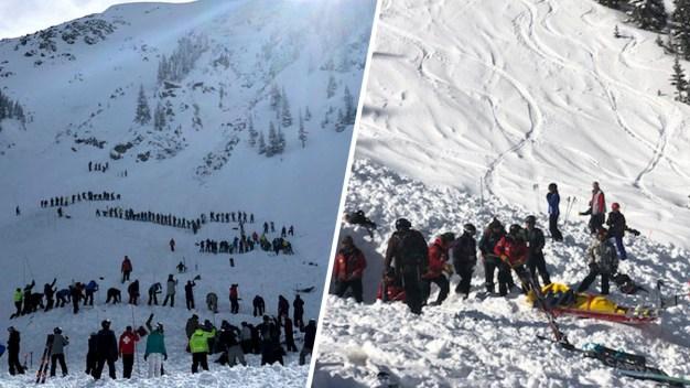 Rescatan a 2 personas tras avalancha en Nuevo México