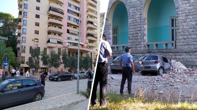 Terremoto sacude a Albania: más de 20 heridos y daños graves