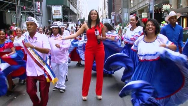 Quisqueya la bella brilló por lo alto en su Desfile Nacional