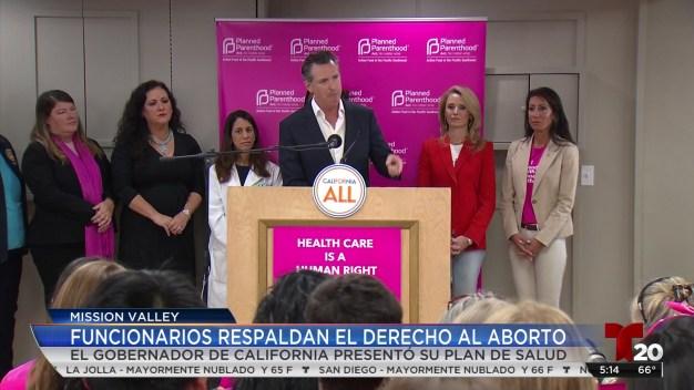 Funcionarios en California respaldan el derecho al aborto