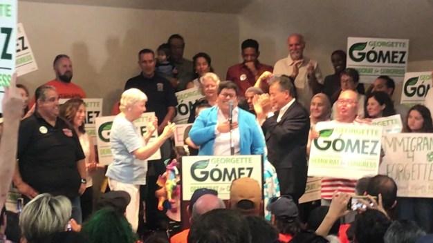 Georgette Gómez anuncia candidatura a Congreso de CA