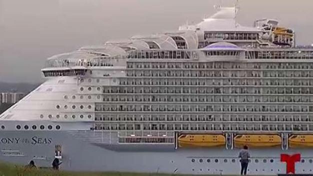 Crucero más grande del mundo impulsa turismo en PR
