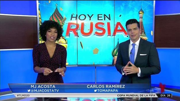 Hoy en Rusia con MJ Acosta y Carlos Ramírez}