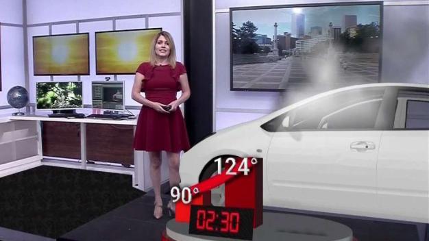 Qué tan rápido sube la temperatura dentro de un auto en los días de calor