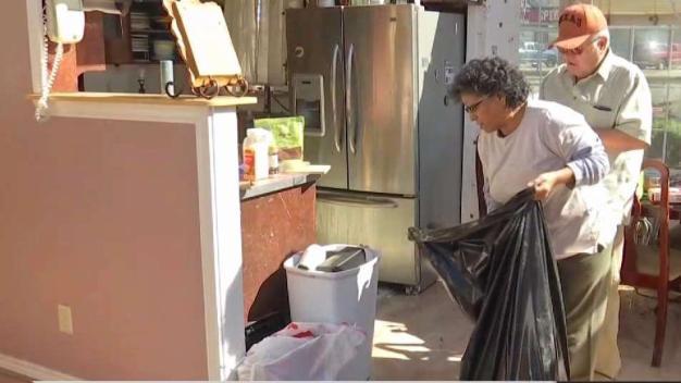 Labores de limpieza y tristeza por tornados en el Metro