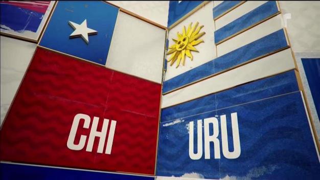 Chile- Uruguay: lo mejor del primer tiempo
