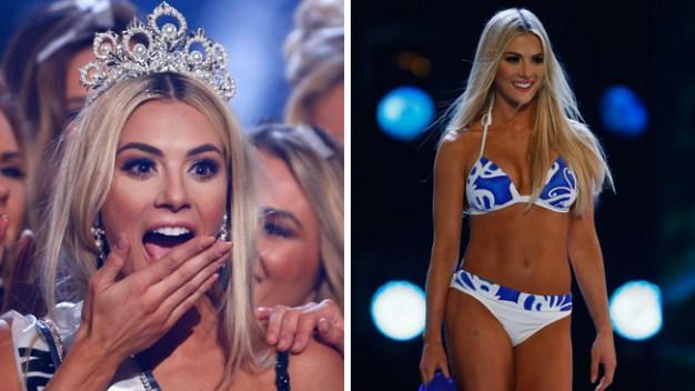 Sexy rubia de Nebraska es elegida Miss Estados Unidos
