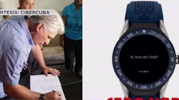 Polémica por costoso reloj de Díaz-Canel y gafas de marca de Raúl Castro