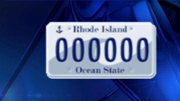 Proponen cambios en placas de autos de Rhode Island}