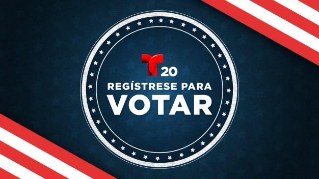 Registrarse para votar