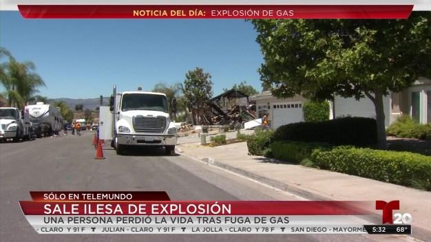 Residente sobrevive a explosión en su casa<br />