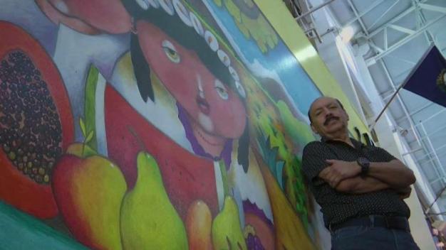 Romero: pintado recuerdos de la frontera